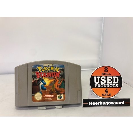 Nintendo 64 Game: Pokemon Stadium