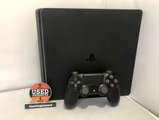 Playstation 4 Slim 500GB Zwart Compleet in Nette Staat