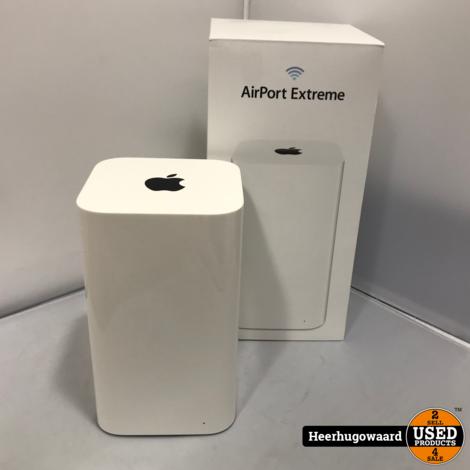 Apple Airport Extreme A1521 Compleet in Doos in Nette Staat