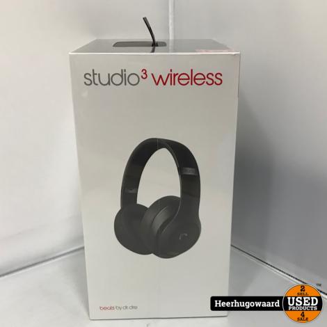 Beats Studio 3 Wireless Zwart Nieuw in Seal