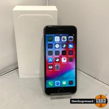 Apple iPhone 6 16GB Space Gray Compleet in Doos (Accu vervangen)
