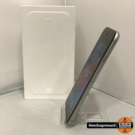 iPhone 6 16GB Space Gray Compleet in Doos (Accu vervangen)