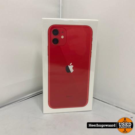 iPhone 11 64GB RED Nieuw in Seal