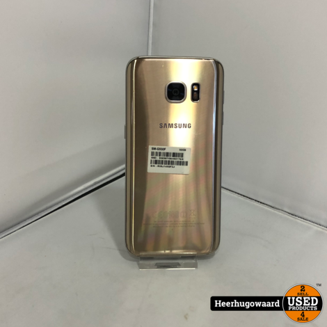 Samsung Galaxy S7 32GB Gold incl. Lader in Goede Staat