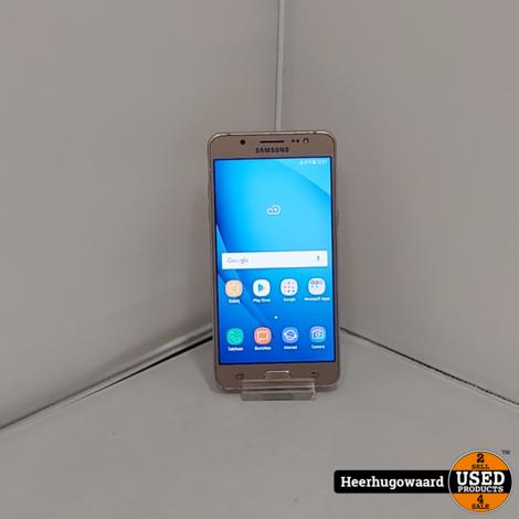 Samsung Galaxy J5 2016 16GB Gold incl. Lader