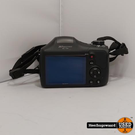 Sony Cybershot DSC-H300 Digitale Camera 20,1MP in Nette Staat