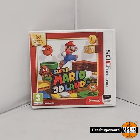 Nintendo 3DS Game: Super Mario 3D Land