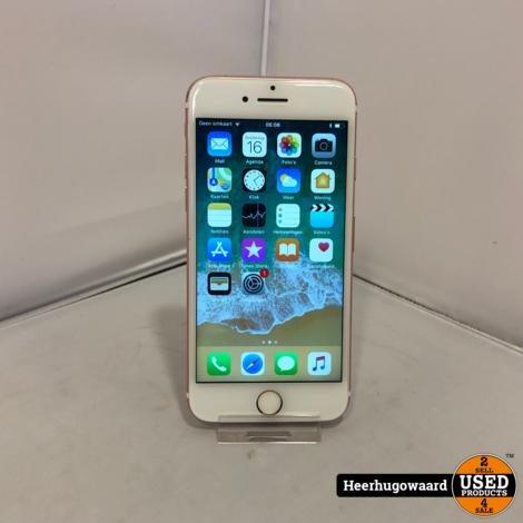 iPhone 7 32GB Rose Gold in Goede Staat (Nieuwe Accu)
