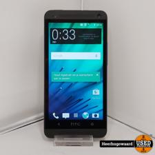 HTC One M7 32GB Zwart incl. Lader
