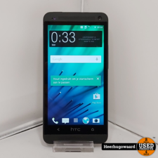 HTC One M7 32GB Zwart incl. Lader