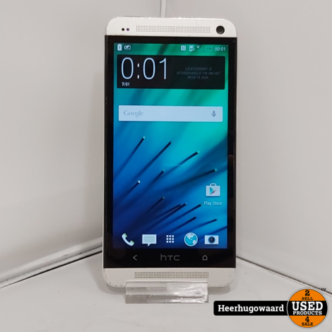 HTC One M7 32GB Grijs incl. Lader