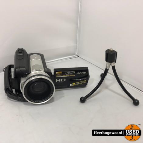 Sony Handycam HDR-SR10E 4MP 40GB 1080P Videocamera Compleet