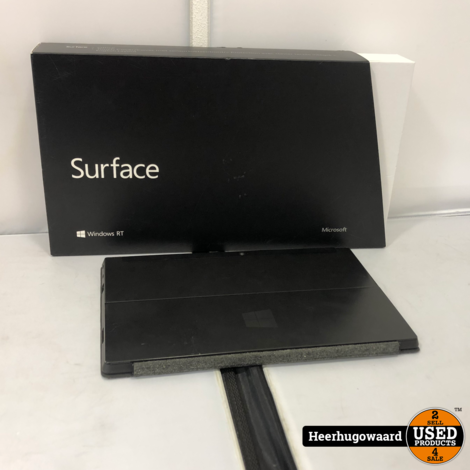 Microsoft Surface RT Tablet 64GB Compleet (1,4GHz 2GB 64GB SSD)