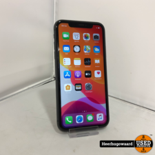 iPhone 11 64GB Black in Nette Staat