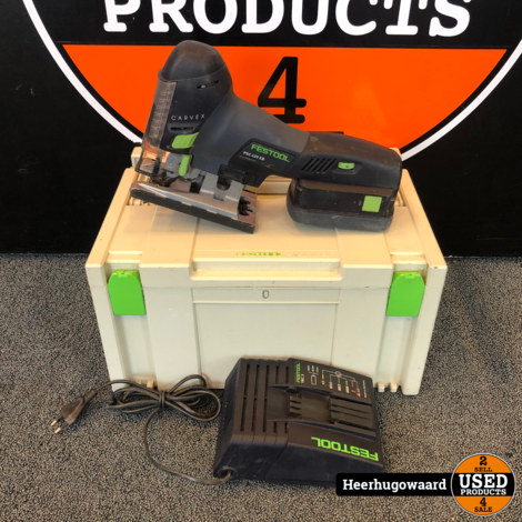Festool PSC 420 EB 18V Decoupeerzaag incl. Lader en Accu in Systainer