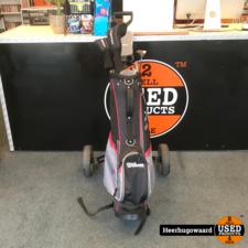 Wilson Prostaff HDX Graphite Heren Golfset RH Compleet met Buggy