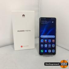 Huawei P30 Pro 128GB Black Compleet met Bon in Nieuwstaat