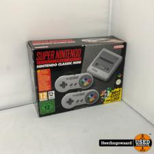 Nintendo Classic Mini SNES Console Compleet ZGAN in Doos