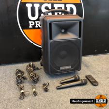 Audiophony Crosser One V180 / Crosser 180 Mobiele Fullrange Speaker Compleet
