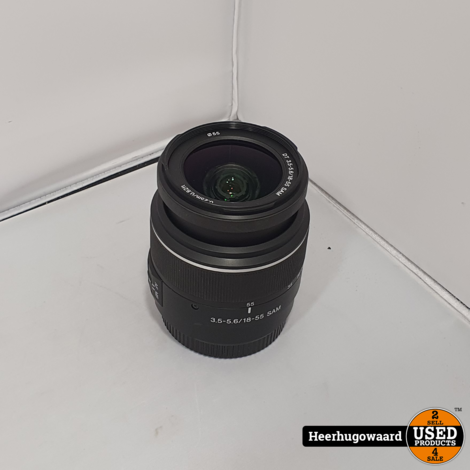 Sony SAL1855 3.5-3.6 18-55mm SAM Lens in Nette Staat