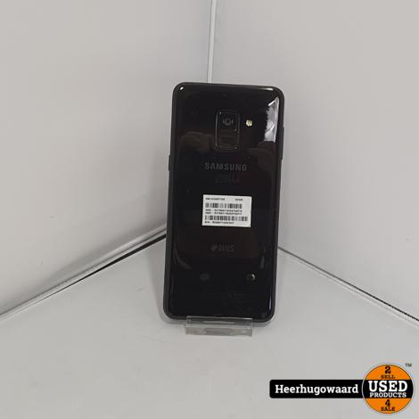 Samsung Galaxy A8 2018 32GB Dual-Sim Black in Nette Staat