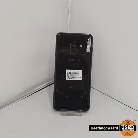 Samsung Galaxy A8 2018 32GB Dual-Sim Zwart in Nette Staat