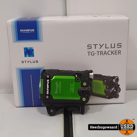 Olympus Stylus Tough TG-Tracker Groen