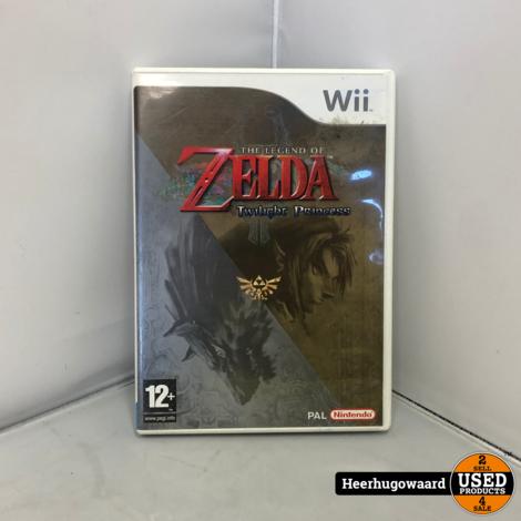 Wii Game: Zelda Twilight Princess - Tijdelijk gratis verzending!