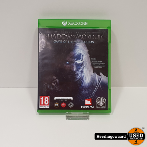 Xbox One Game: Middle Earth Shadow of Mordor