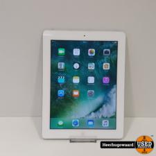 iPad 4 16GB Wifi Silver in Nette Staat