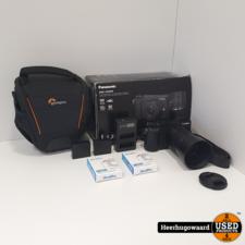 Panasonic Lumix DMC-GX80 incl. 45-150mm Lens en 4 Accu's