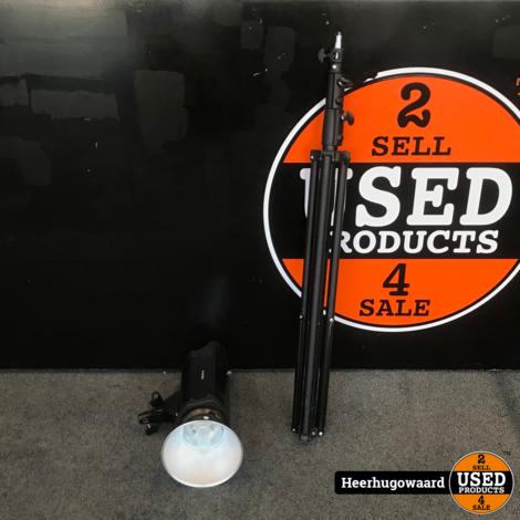 Studio Flash Lamp 250W QH-DGS250A incl. Statief