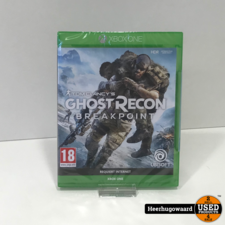 Xbox One Game: Ghost Recon Breakpoint Nieuw in Seal