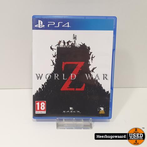 PS4 Game: World War Z