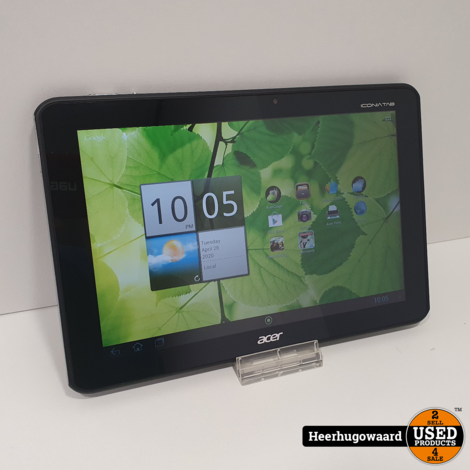 Acer Iconia Tab 10.1'' A700 32GB Wifi in Goede Staat