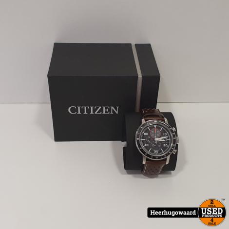 Citizen Eco Drive Chrono CA0641-24E Horloge in Nieuwstaat