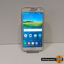 Samsung Galaxy S5 16GB Wit in Goede Staat