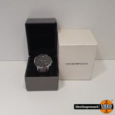 Emporio Armani AR2460 Horloge in Doos in Nette Staat