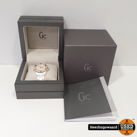 GC Guess Collection X69003L1S Dameshorloge Compleet in Nette Staat
