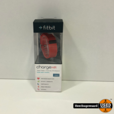 Fitbit Charge HR Rood in Doos in Nette Staat