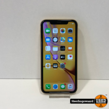 iPhone XR 128GB Yellow in Zeer Nette Staat - Accu 90%