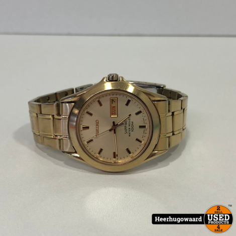Seiko V743-8B50 Horloge in Goede Staat