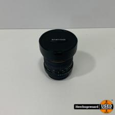 Samyang Fisheye CS 8mm 1:3.5 Lens Voor Canon in Nette Staat