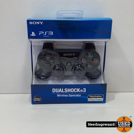 Playstation 3 Controller Zwart Nieuw in Doos - Imitatie