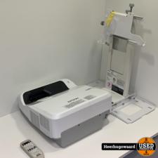 Epson EB-680 Beamer Compleet in Goede Staat 1307 Branduren