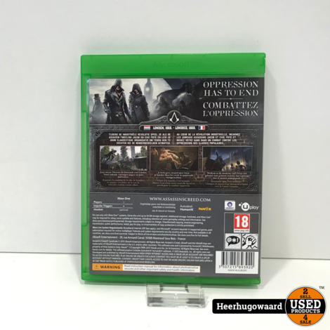 Xbox One Game: Assassin's Creed Syndicate