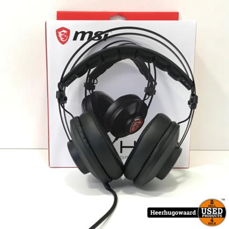 MSI H991 Gaming Headset voor PC in Doos in Nette Staat
