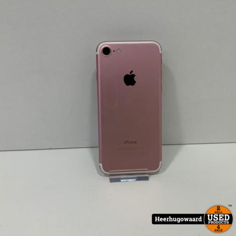 iPhone 7 32GB Rose Gold in Nette Staat - Accu 100%