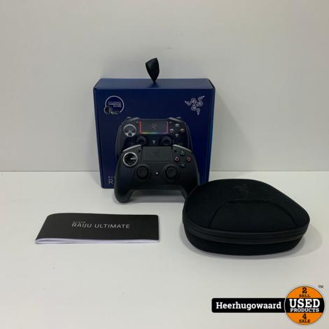 Razer Raiju Ultimate Controller voor PS4 in Nette Staat
