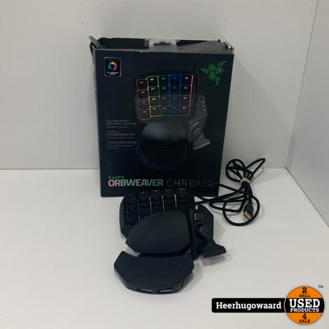 Razer Orbweaver Chroma Gaming Keypad in Nette Staat